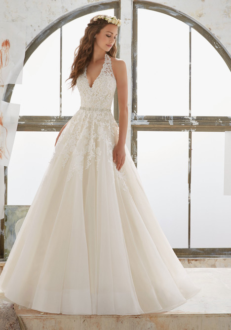 5513 gown from the 2017 Mori Lee: Blu collection, as seen on dressfinder.ca