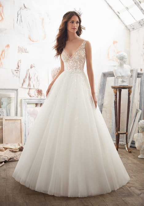 5515 gown from the 2017 Mori Lee: Blu collection, as seen on dressfinder.ca
