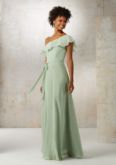 21503 (sage) gown from the 2017 Mori Lee : Bridesmaids collection, as seen on dressfinder.ca