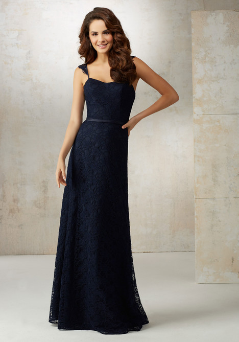 21505 (navy) gown from the 2017 Mori Lee : Bridesmaids collection, as seen on dressfinder.ca
