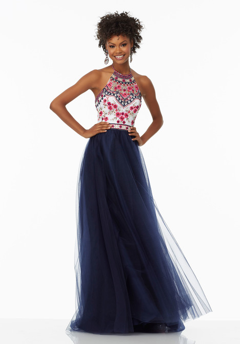 99016 (navy) gown from the 2017 Mori Lee Prom collection, as seen on dressfinder.ca