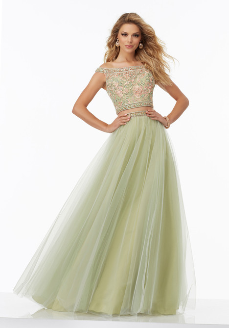 99023 (sage) gown from the 2017 Mori Lee Prom collection, as seen on dressfinder.ca