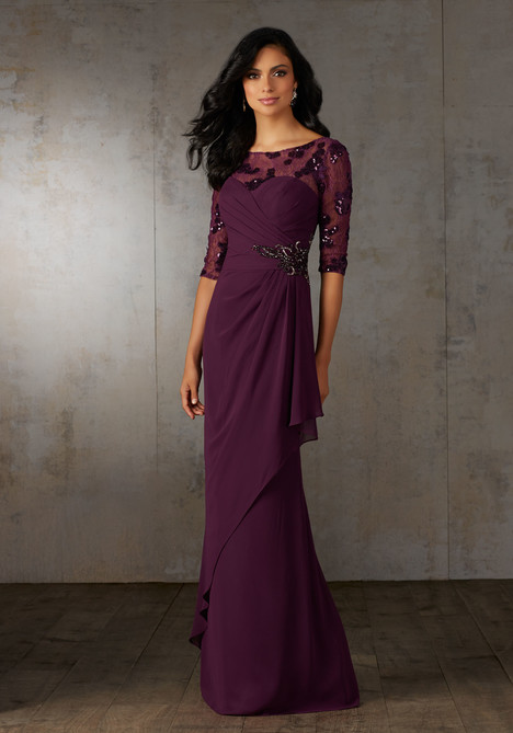 Style 71526 Eggplant Mother Of The Bride Dress By Mgny