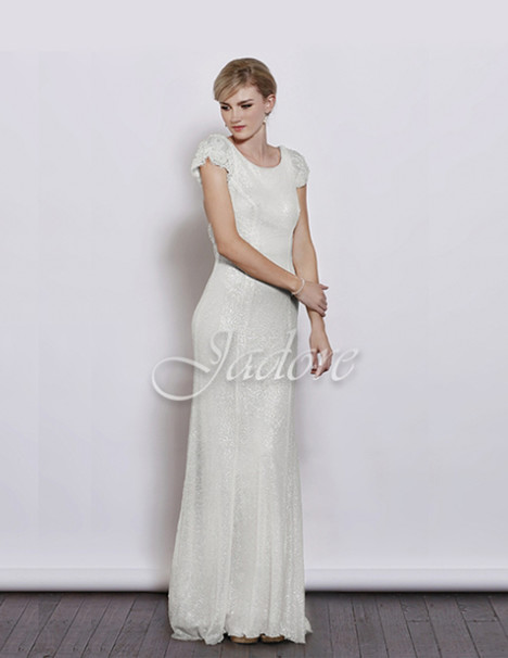 J3021 (ivory) gown from the 2017 Jadore Evening collection, as seen on dressfinder.ca