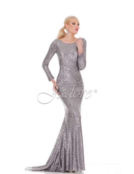 J6005 (silver) gown from the 2017 Jadore Evening collection, as seen on dressfinder.ca