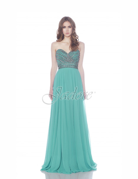 J7061 (turquoise) gown from the 2017 Jadore Evening collection, as seen on dressfinder.ca