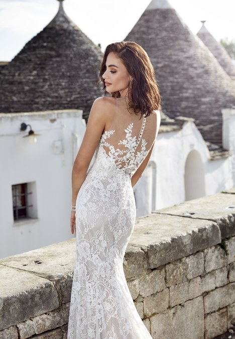 Adela (back) gown from the 2018 Eddy K : Dreams collection, as seen on dressfinder.ca