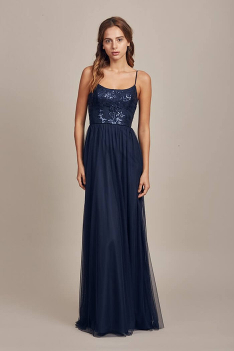 Stephanie (GB014) (navy) gown from the 2017 Amsale : Bridesmaids collection, as seen on dressfinder.ca