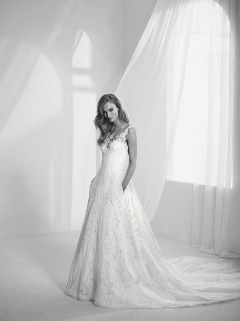 924793ba48a Radila gown from the 2018 Pronovias Atelier collection