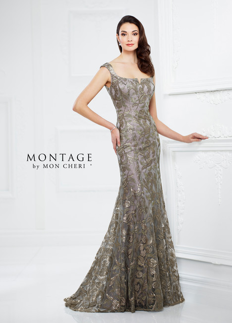 Dark Taupe Mother of the Bride Dress
