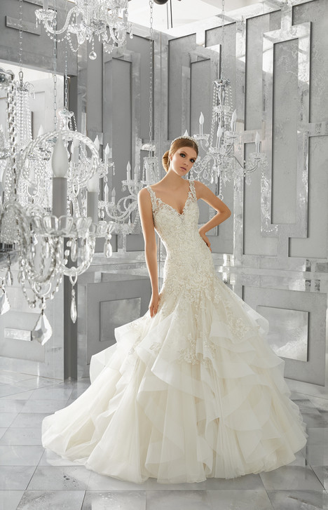 8195 gown from the 2017 Mori Lee: Bridal collection, as seen on dressfinder.ca