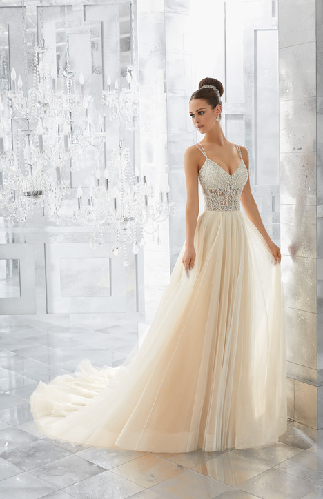 5565 gown from the 2017 Mori Lee: Blu collection, as seen on dressfinder.ca