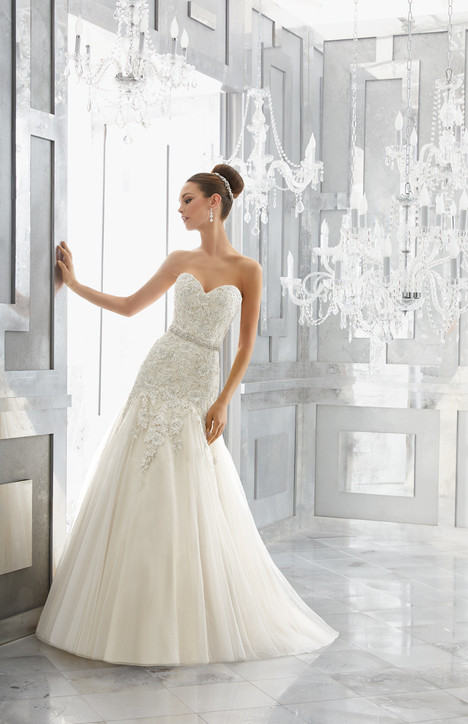 5566 gown from the 2017 Mori Lee: Blu collection, as seen on dressfinder.ca