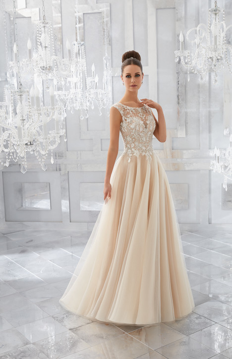 5567 gown from the 2017 Mori Lee: Blu collection, as seen on dressfinder.ca