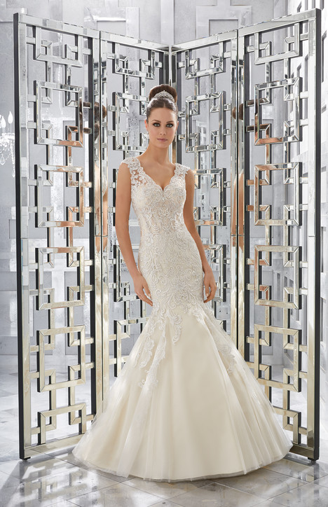 5568 gown from the 2017 Morilee Blu collection, as seen on dressfinder.ca