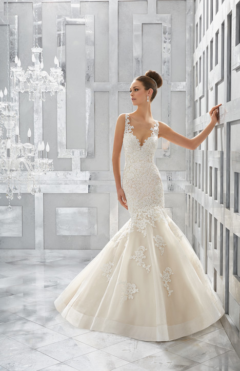 5571 gown from the 2017 Mori Lee: Blu collection, as seen on dressfinder.ca