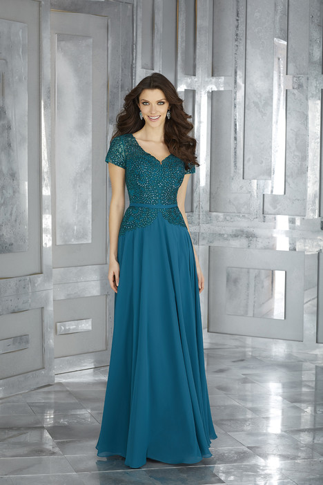 71620 (teal) gown from the 2017 MGNY Madeline Gardner collection, as seen on dressfinder.ca