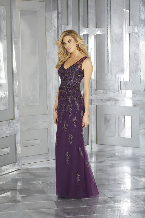 Style 71630 Eggplant Mother Of The Bride Dress By Mgny