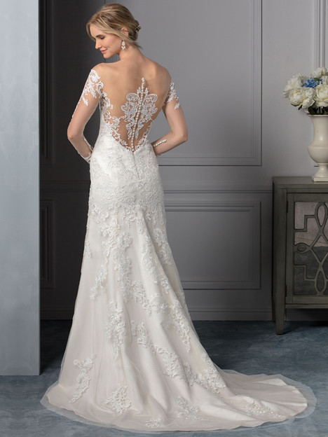 Carolina (BL239) (back) gown from the 2017 Beloved By Casablanca collection, as seen on dressfinder.ca