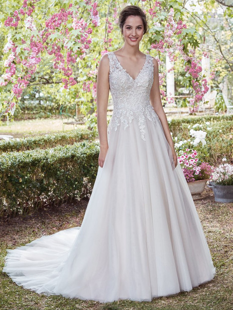 Gladys gown from the 2017 Rebecca Ingram collection, as seen on dressfinder.ca