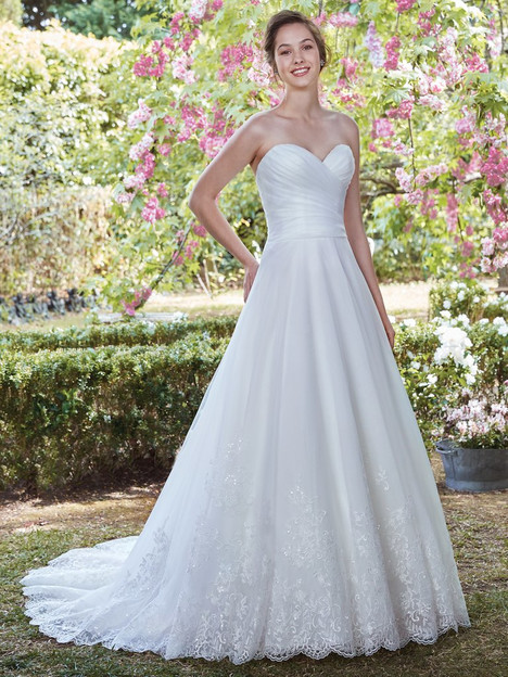 Lenora gown from the 2017 Rebecca Ingram collection, as seen on dressfinder.ca