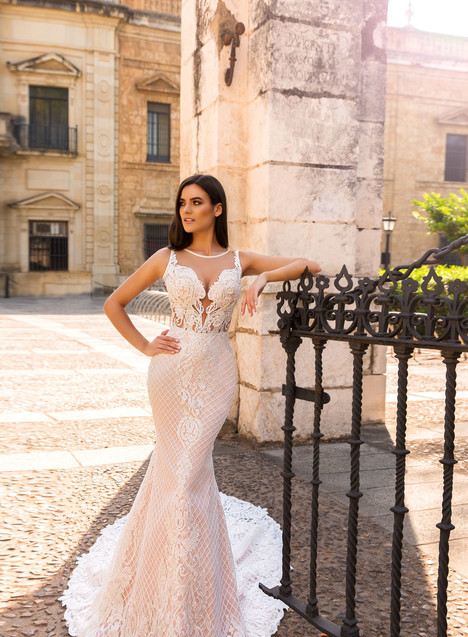 Lizzi gown from the 2017 Crystal Sevilia collection, as seen on dressfinder.ca