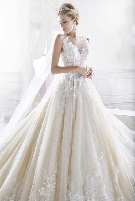 quality design f6399 55a3e NIAB18093 Wedding Dress by Nicole Spose | The Dressfinder ...