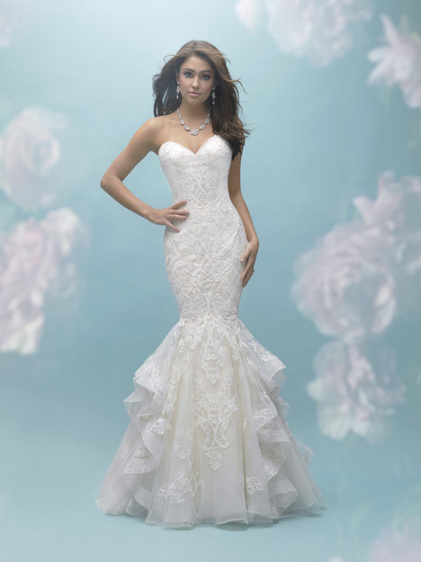9456 gown from the 2017 Allure Bridals collection, as seen on dressfinder.ca