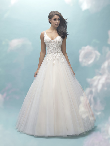 9459 gown from the 2017 Allure Bridals collection, as seen on dressfinder.ca