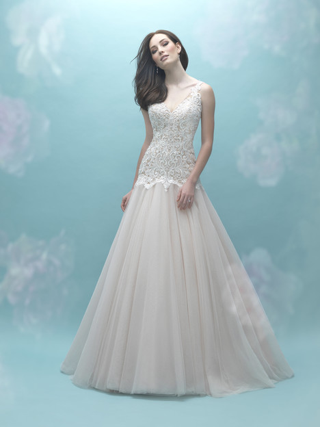 gown from the 2017 Allure Bridals collection, as seen on dressfinder.ca