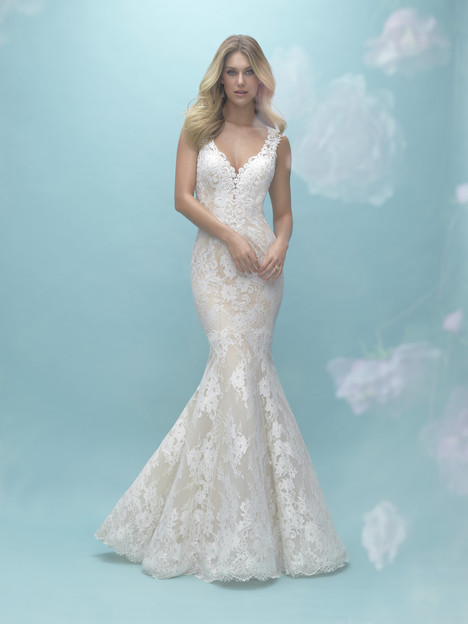 9464 gown from the 2017 Allure Bridals collection, as seen on dressfinder.ca