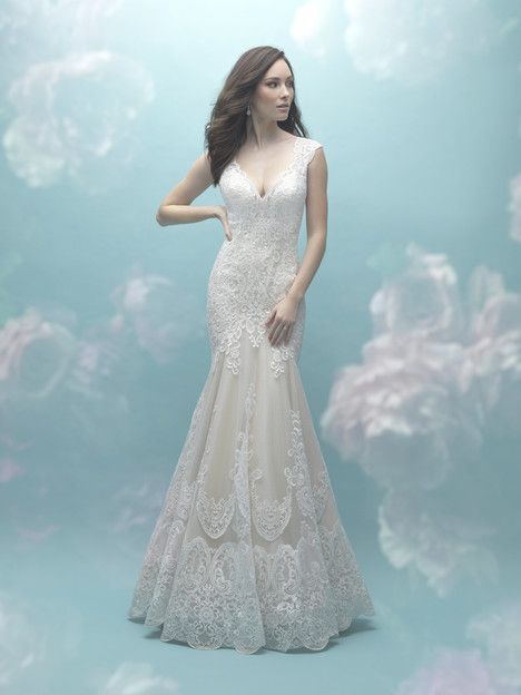 9468 gown from the 2017 Allure Bridals collection, as seen on dressfinder.ca