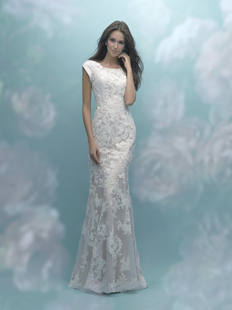 M585 Wedding Dress By Allure Modest Dressfinder