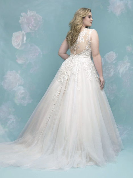 W401 (back) gown from the 2017 Allure Women collection, as seen on dressfinder.ca