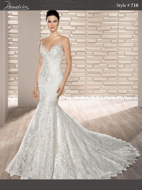 710 gown from the 2017 Demetrios Bride collection, as seen on dressfinder.ca