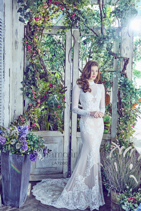 LA7280 gown from the 2017 L'Amour by Calla Blanche collection, as seen on dressfinder.ca