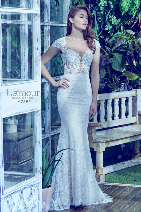 LA7282 gown from the 2017 L'Amour by Calla Blanche collection, as seen on dressfinder.ca