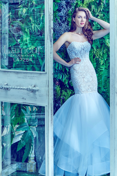 LA7284 gown from the 2017 L'Amour by Calla Blanche collection, as seen on dressfinder.ca
