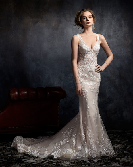 1737 gown from the 2017 Kenneth Winston collection, as seen on dressfinder.ca