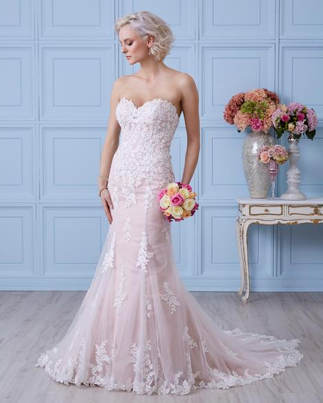 7411 gown from the 2017 Romantic Bridals collection, as seen on dressfinder.ca