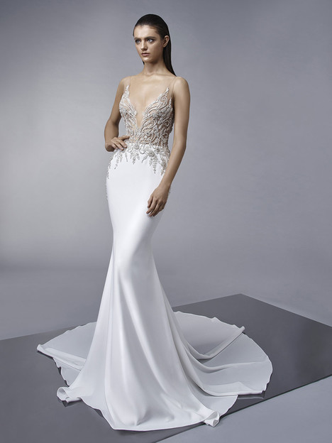 Melinda gown from the 2018 Enzoani collection, as seen on dressfinder.ca
