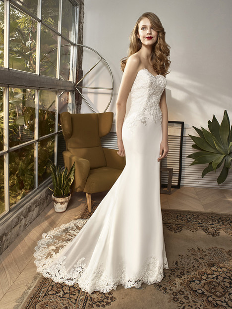 c264b3ff65f3d BT18-16 gown from the 2018 Enzoani Beautiful Bridal collection, as seen on  dressfinder