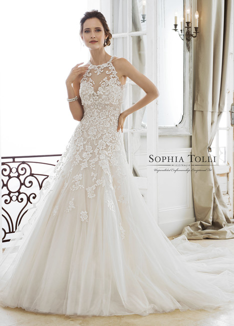 Adonia (Y11866LB) gown from the 2018 Sophia Tolli collection, as seen on dressfinder.ca