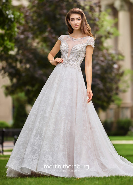 Operetta (118261A) gown from the 2018 Martin Thornburg for Mon Cheri collection, as seen on dressfinder.ca