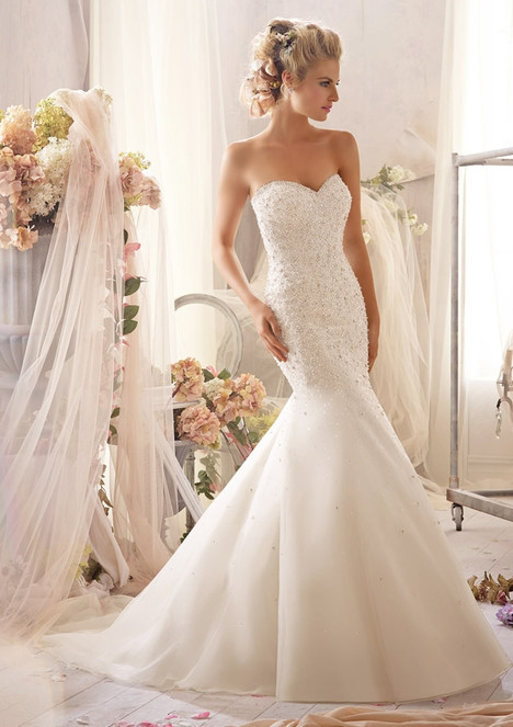 2603 gown from the 2015 Morilee Bridal collection, as seen on dressfinder.ca