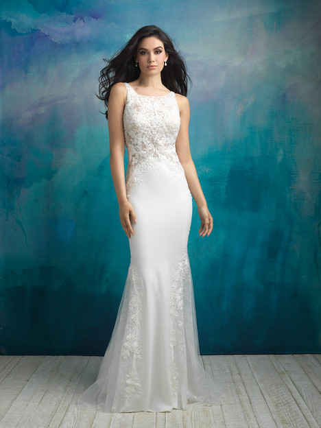 9503 gown from the 2018 Allure Bridals collection, as seen on dressfinder.ca
