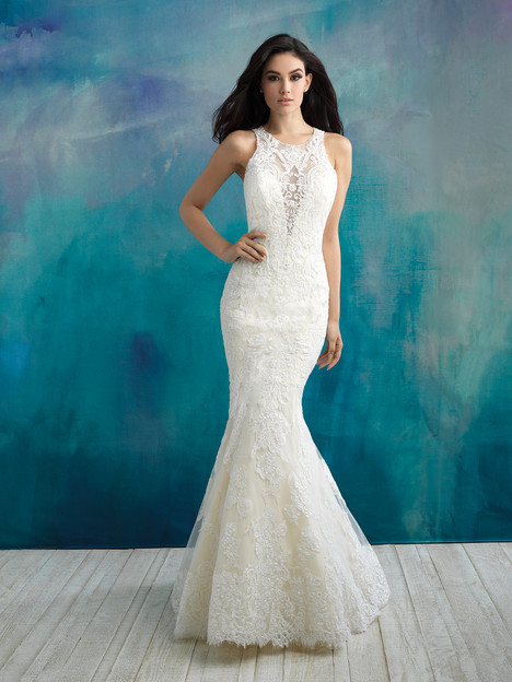 Style 9504 Wedding Dress By Allure Bridals The Dressfinder The