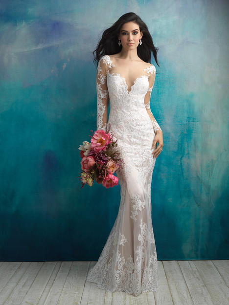 gown from the 2018 Allure Bridals collection, as seen on dressfinder.ca