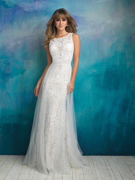 9507 gown from the 2018 Allure Bridals collection, as seen on dressfinder.ca