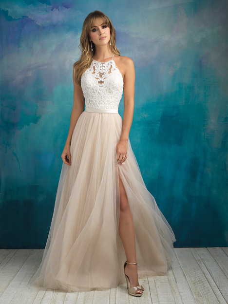 9509 gown from the 2018 Allure Bridals collection, as seen on dressfinder.ca